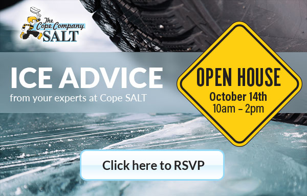 Ice advice from your experts at Cope Salt
