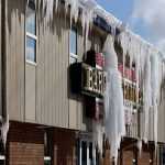 winter weather hazards - icicles
