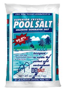 evaporated pool salt